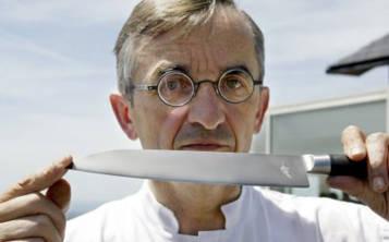 En su restaurante el cuchillo tradicional de Lagliole no se cambia durante la comida, de la misma manera que el pan se corta en la mesa. (Foto: Archivo)