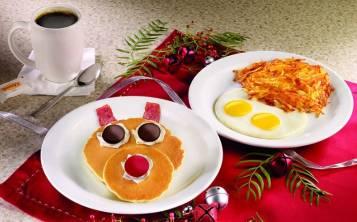 Por tiempo limitado también estará disponible el Rudolph Pancake Breakfast, para los más pequeños.