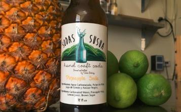 Las Sodas Susua son preparadas con agua carbonatada y jugos naturales. (Suministrada)