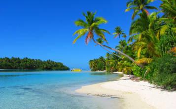 One Foot Island, en la isla de Aitutaki, Islas Cook (Foto: Shutterstock.com)