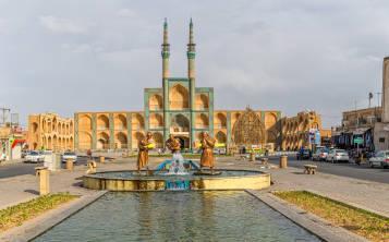 Yazd histórico en Irán