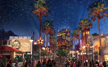 Desde el 9 de noviembre, hasta el 31 de diciembre habrá una gran celebración navideña en el área del Hollywood Tower Hotel.