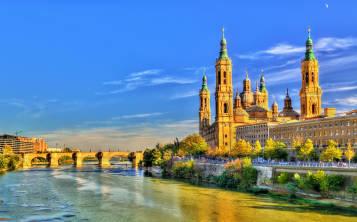 Zaragoza fue la primera ciudad europea en contar con dos catedrales.