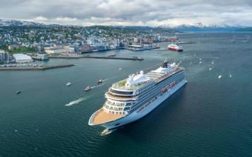 El Viking Sun es un barco nuevo de Viking Cruises, que estrena en unos meses.