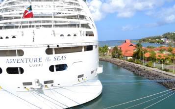 El barco Adventure of the Seas, de Royal Caribbean, zarpará el 7 de octubre y visitará visitará los puertos de St. Kitts, Antigua, Martinica, St. Lucia y Barbados.