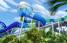 La chorrera acuática, de más de 60 pies de alto, tendrá un recorrido de triple diversión con deslizamientos, mucha agua y elevaciones.