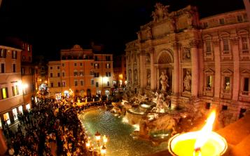 Fontana di Trevi. (Archivo)