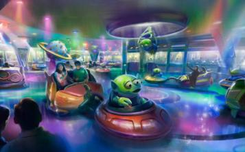 La atracción Alien Swirling Saucers formará parte del Toy Story Land. (Foto Disney Blog)