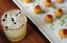 """""""Smokey 18"""", pareado con croquetas de queso Gouda y conserva de papaya.   (Foto: Vanessa Serra / GFR Media)"""