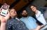 El chef Martín Louzao, Francisco Tirado y Cristal Díaz, gestores de la app PRoduce!. (Foto: Luis Alcalá del Olmo / GFR Media)