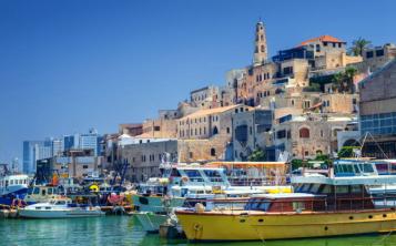 La ciudad portuaria bíblica y mediterránea de Jaffa es parte de una municipalidad conjunta de Tel Aviv y Jaffa.