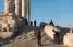 En el sitio histórico de la Ciudadela, que incluye el Templo de Hércules de la era romana. (Nadia Bseiso para The New York Times)