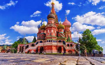 Catedral San Basilio, en Moscú