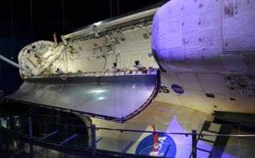 Nave espacial Atlantis (Foto: Gregorio Mayí / Especial para GFR Media)