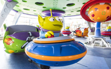 La atracción Alien Swirling Saucers será parte de la nueva zona dedicada a Toy Story. (Suministrada)