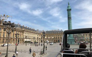 La mejor opción de ver la ciudad es a bordo de un autobús de dos pisos con paradas en todas las principales atracciones. (Gregorio Mayí / Especial para GFR Media)