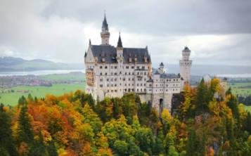 Castillo de Neuschwanstein, en Alemania (Unsplash)