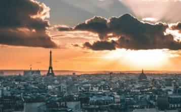 Atardecer en París. (Unsplash)