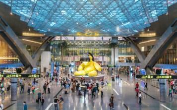 El Aeropuerto Internacional Hamad, en Doha, Catar, figura como el mejor del mundo. (Shutterstock.com)
