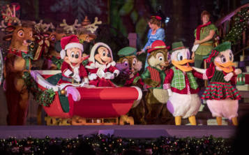 Espectáculo Mickey's Most Merriest Celebration. (Kent Phillips, photographer)