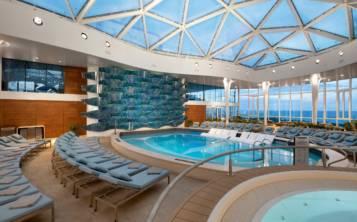 El Celebrity Edge ofrecerá un solarium para el disfreute y relajación de sus pasajeros. (Suministrada)